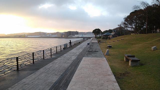 横須賀海辺釣り公園am7:00