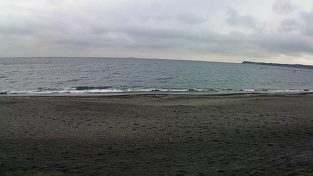 三浦海岸の釣り場風景
