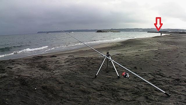 魚の釣れる位置?