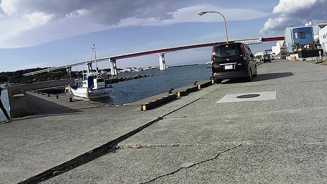 通り矢堤防の釣り禁止区域