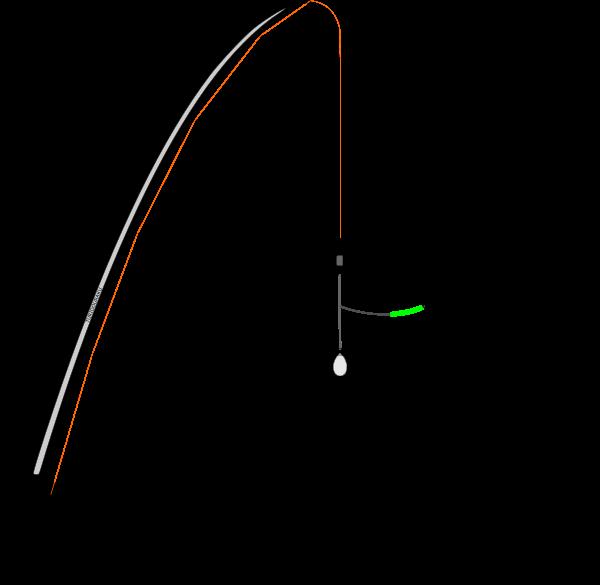 ちょい投げの仕掛けで弓型キス天秤使用Ver.2