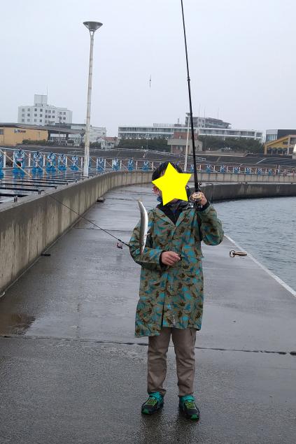 息子の釣果