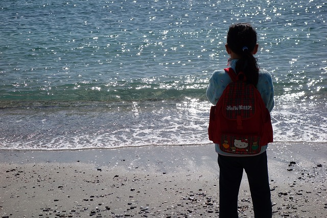 多々良浜(たたら浜)の海はキレイ