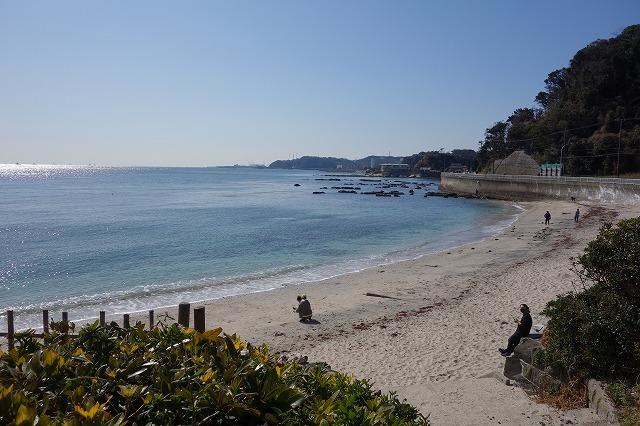 多々良浜中央地点から右側の風景写真