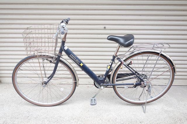 自転車釣行用の自転車に荷台を設置