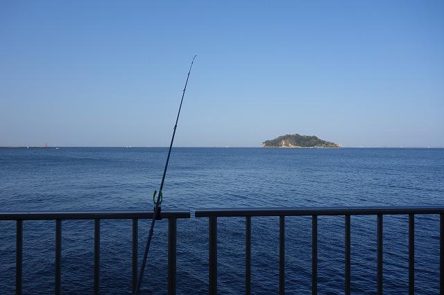 うみかぜ公園の釣り風景写真