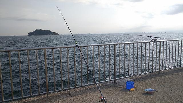 釣り竿2本体制