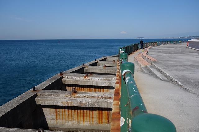 堤防の外側の写真