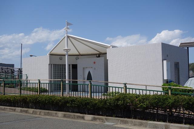 葉山港のトイレの写真