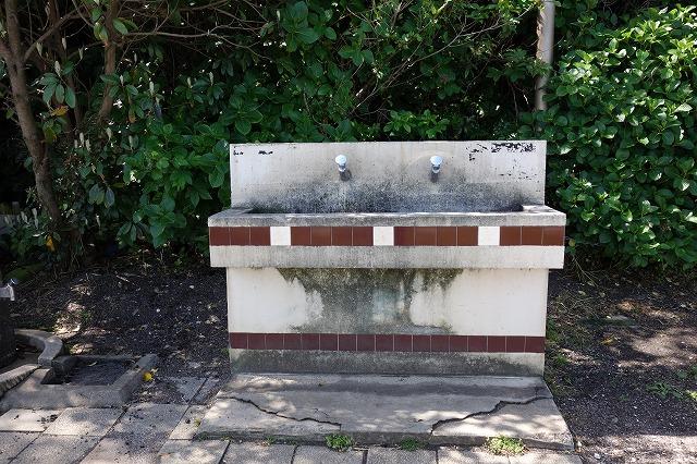 観音崎公園BBQ広場の洗い場の写真