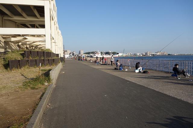 うみかぜ公園の混雑状況(2021年4月24日)