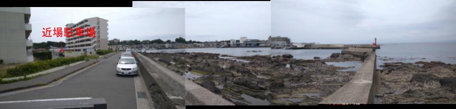 長井港全体風景写真