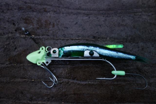 飛んで行った太刀魚ゲッターの写真